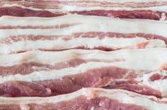 Barriga de carne de porco Fotografia de Stock