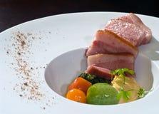 Barriga de carne de porco do vide de Sous Imagem de Stock Royalty Free