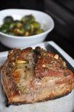 Barriga de carne de porco friável Imagem de Stock