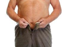 Barriga gorda do homem imagem de stock royalty free