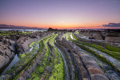 Barrika beach, bilbao Stock Photography