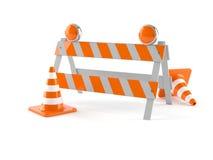 barrikade stock abbildung