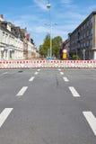 barrikaden royaltyfria bilder