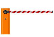 barrikaden stock illustrationer