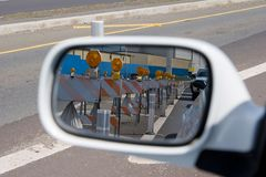 barrikadspegel Royaltyfria Foton