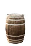 barril aislado en blanco Foto de archivo libre de regalías