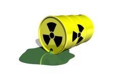 Barril atómico Imagenes de archivo