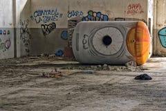 Barril con el ojo Fotografía de archivo libre de regalías