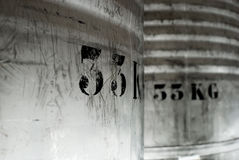 barril de 33 kilogramos Imagenes de archivo