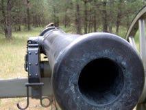 Barril de cañón de la guerra civil Fotografía de archivo libre de regalías