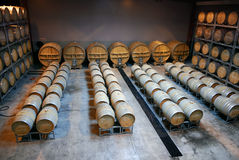 Barril de la yarda del vino Imagen de archivo libre de regalías