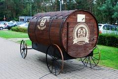 Barril de los bravoras de Juozo para la cerveza de centeno Imágenes de archivo libres de regalías