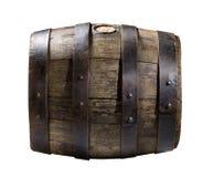 Barril de madera Imágenes de archivo libres de regalías