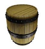 Barril de madera Fotografía de archivo libre de regalías
