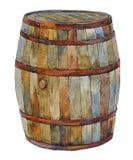 Barril de madera Fotos de archivo
