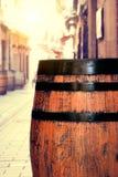Barril de madera fotos de archivo libres de regalías