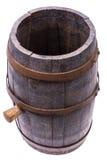 Barril de madera viejo con el corcho Foto de archivo libre de regalías