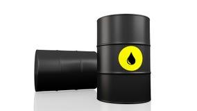 Barril de petróleo Fotografía de archivo libre de regalías