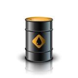 Barril de petróleo ilustración del vector