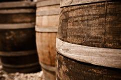 Barril de vino Imagen de archivo libre de regalías