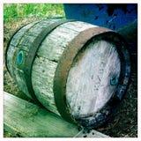 Barril de vino Foto de archivo