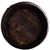 Barril de vino aislado en blanco foto de archivo libre de regalías