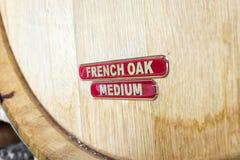 Barril de vino francés del roble Imagen de archivo