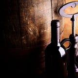 Barril de vino rojo fotografía de archivo libre de regalías