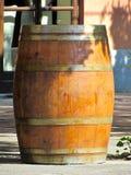 Barril de vino viejo Imagen de archivo libre de regalías