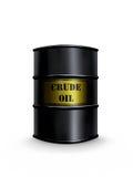 Barril del petróleo crudo ilustración del vector