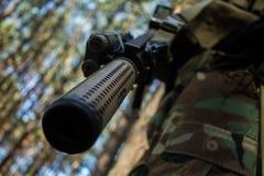 Barril del rifle Imagen de archivo libre de regalías