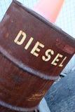 Barril diesel Imagenes de archivo