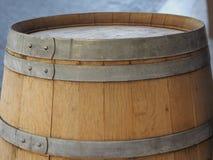 barril do tambor para o vinho fotografia de stock
