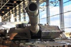 Barril en un tanque Foto de archivo