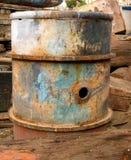 Barril oxidado Imágenes de archivo libres de regalías