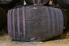 Barril para el vino o el whisky Fotografía de archivo