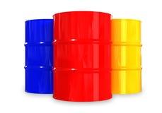 Barriles Imagen de archivo libre de regalías