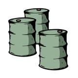 barriles Fotografía de archivo