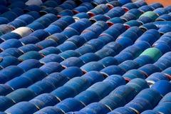 Barriles de los arenques, Suecia Imagen de archivo libre de regalías