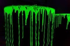 Barriles de los desechos radioactivos Imagenes de archivo
