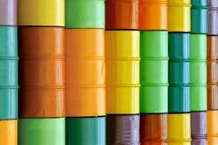 Barriles de petróleo Fotografía de archivo