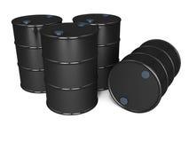 Barriles de petróleo ilustración del vector
