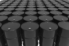 Barriles de petróleo Imagen de archivo