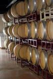 Barriles de vino Foto de archivo