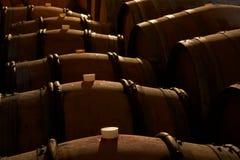 Barriles de vino Imagenes de archivo