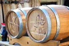 Barriles para el vino 2 Foto de archivo