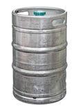 Barrilete de cerveza del metal Imágenes de archivo libres de regalías