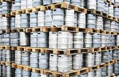 Barriletes de cerveza Fotografía de archivo libre de regalías