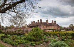 Barrington Court y jardines impresionantes Imagen de archivo libre de regalías