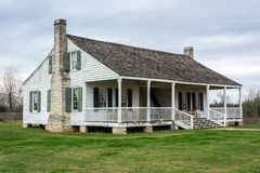 Barrington Living History Farm en Washington-en--Brazos, TX fotos de archivo